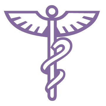 winged medical staff icon