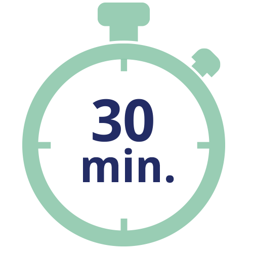 30 minute timer icon